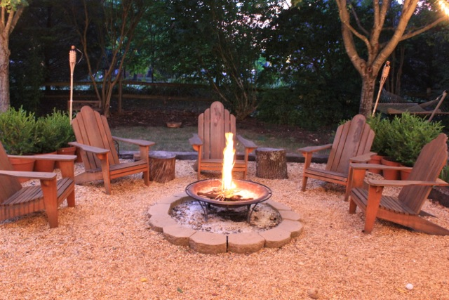 Inexpensive Backyard Fire Pits : Firepits on Pinterest  Fire Pits, Backyards and Fire Pit Area