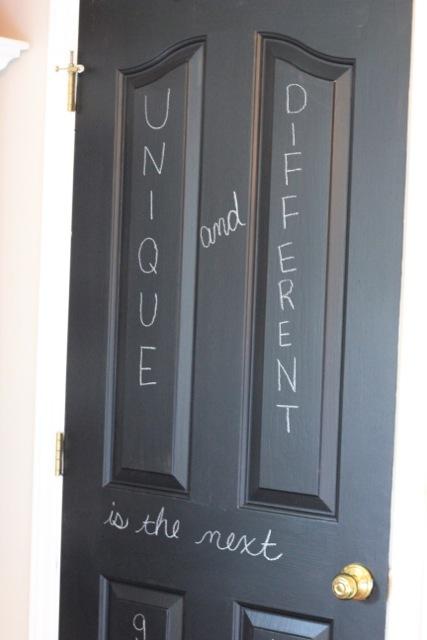 I ... & Chalkboard Door - daisymaebelle | daisymaebelle