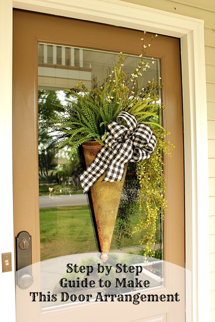 How To Make A Door Arrangement Daisymaebelle Daisymaebelle