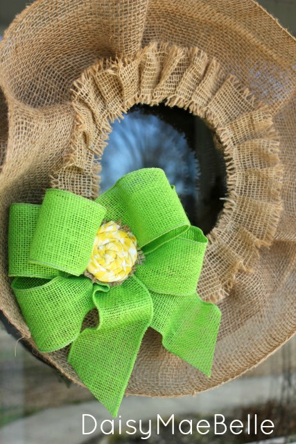 Burlap Wreath Feb 201324
