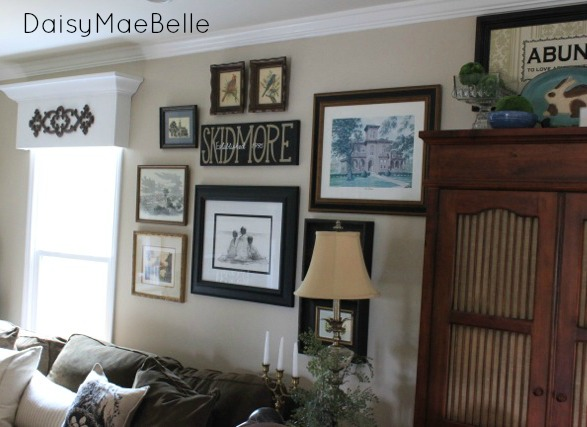 Gallery Wall for Family Room21