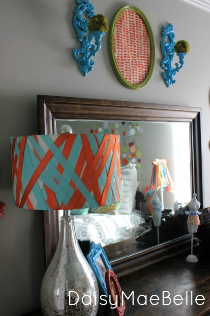Ribbon Lampshade07