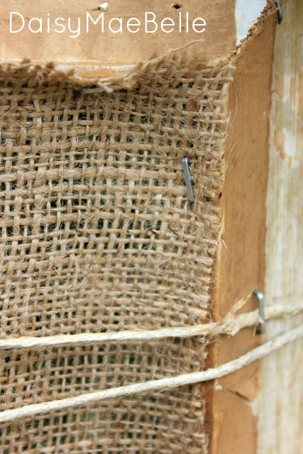 Twine and Burlap Frame7