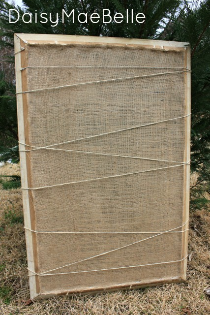 Twine and Burlap Frame8