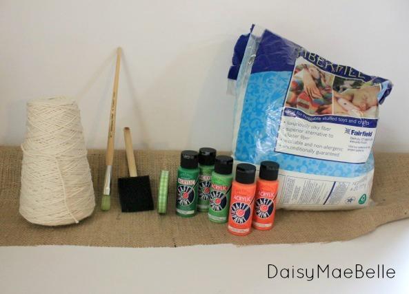 DIY Burlap Carrots02