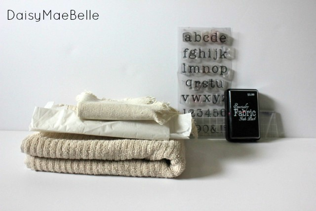 DIY Stamped Hand Towels02