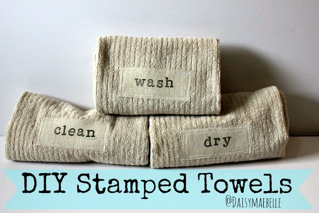 Stamped Towels
