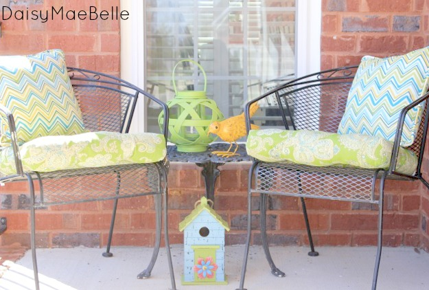 Spring Porch @ DaisyMaeBelle