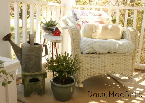 Vintage Front Porch Accessories @ DaisyMaeBelle