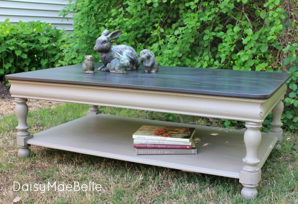 Chalk Painted Coffee Table Daisymaebelle