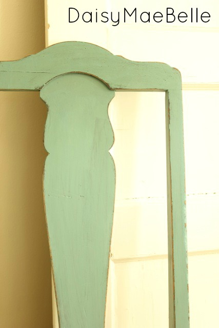 Painting with Miss Mustard Seed Milk Paint @ DaisyMaeBelle