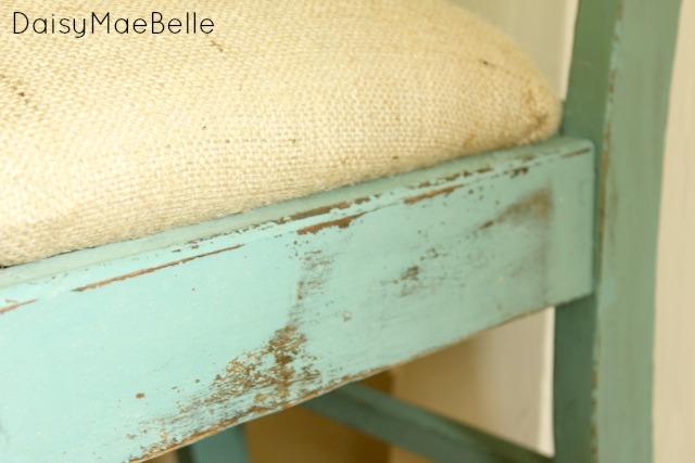 Burlap Chair @ DaisyMaeBelle
