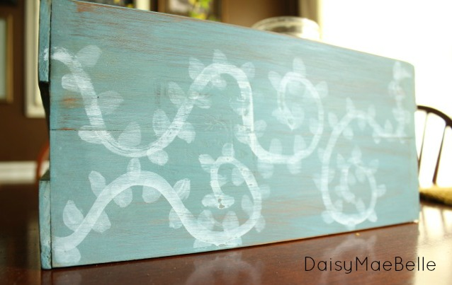 Miss Mustard Seed Milk Paint Project @ DaisyMaeBelle
