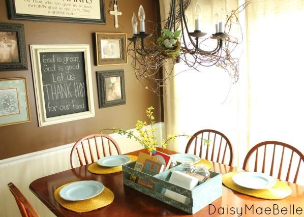 Brown Kitchen @ DaisyMaeBelle