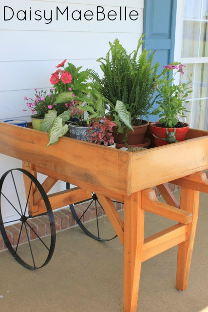 Garden Cart @ DaisyMaeBelle