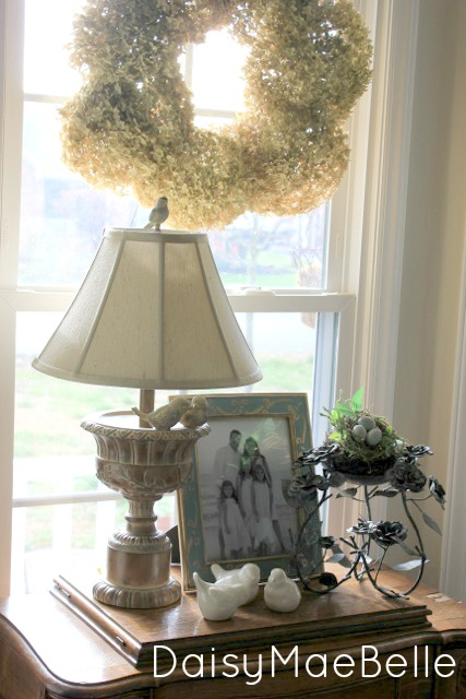 Bird Bath Lamp @ DaisyMaeBelle