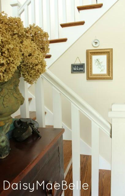 Stairway Decorations @ DaisyMaeBelle
