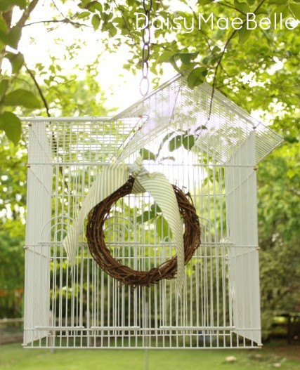 Decorating with Birdcages @ DaisyMaeBelle