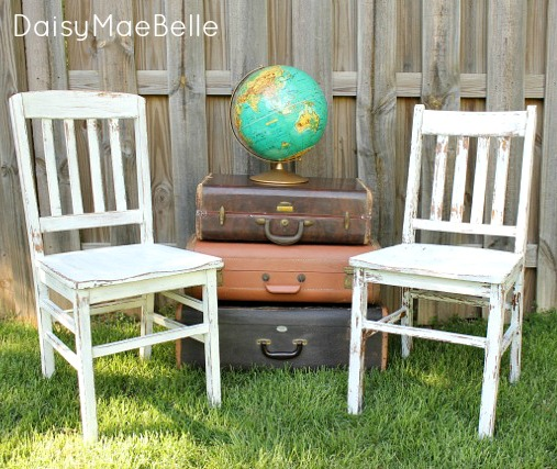 Miss Mustard Seed Ironstone Chairs @ DaisyMaeBelle