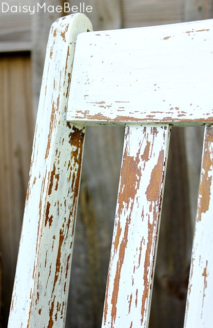 Vintage Painted Chairs @ DaisyMaeBelle
