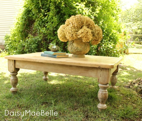Miss Mustard Seed Ironstone Milk Paint Table @ DaisyMaeBelle