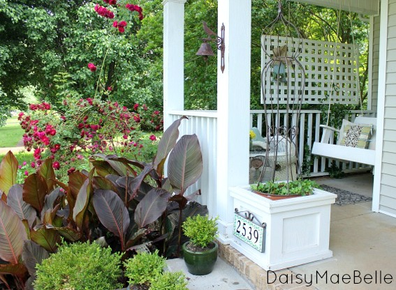 Summer Front Porch @ DaisyMaeBelle