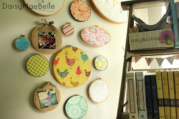 Collection of Embroidery Hoops @ DaisyMaeBelle
