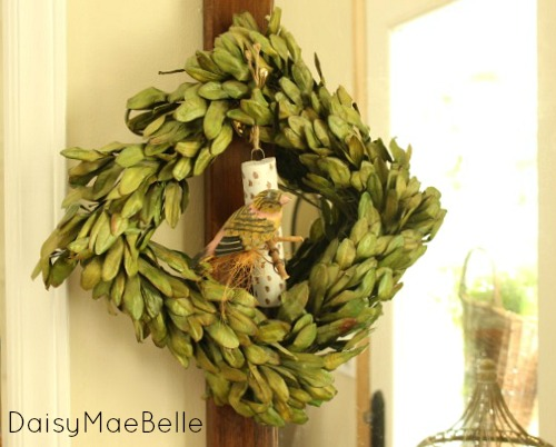 Boxwood Wreath @ DaisyMaeBelle
