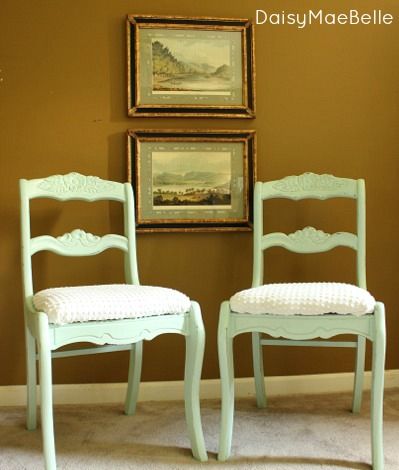 Mint Chairs @ DaisyMaeBelle