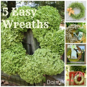 5 Easy Wreath @ DaisyMaeBelle
