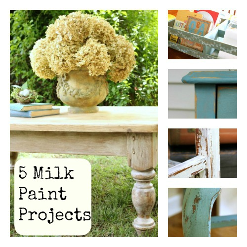 5 Milk Paint Projects @ DaisyMaeBelle