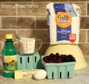 How to Make a Blackberry Cobbler @ DaisyMaeBelle