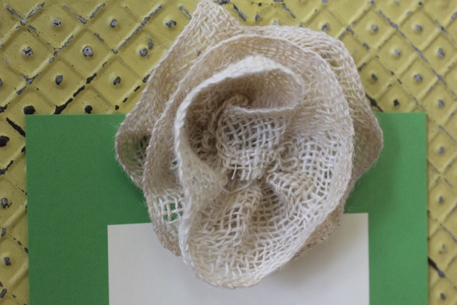 How to Make a Burlap Flower @ DaisyMaeBelle