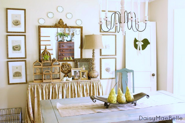 My Dining Room @ DaisyMaeBelle
