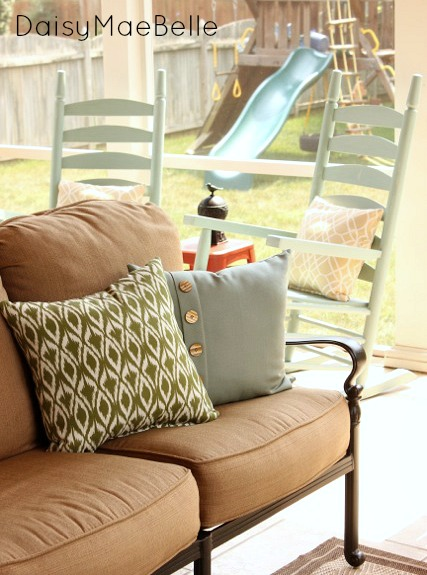 outdoor furniture for a screened porch