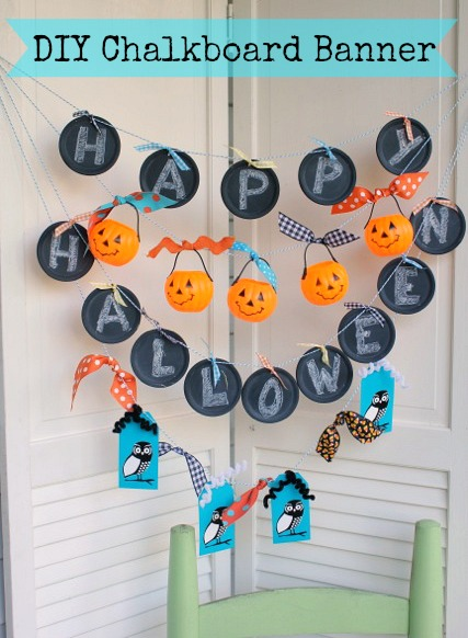 How to make a Halloween Banner