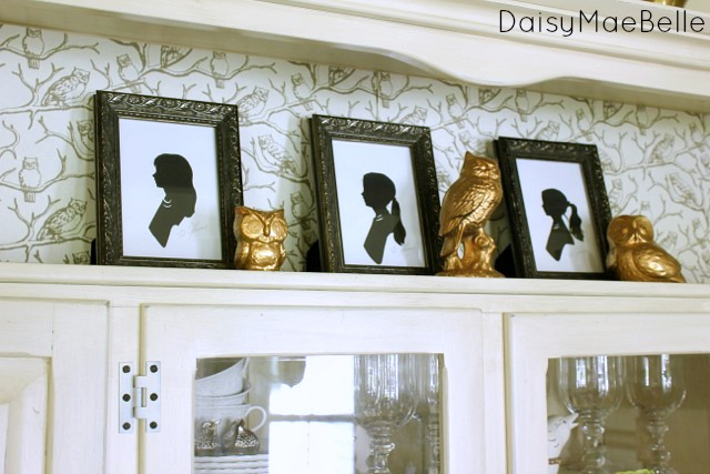 decorating a hutch for fall