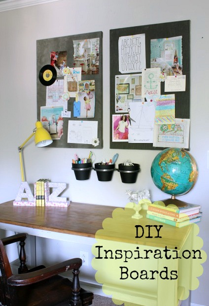 How to make an inspiration board