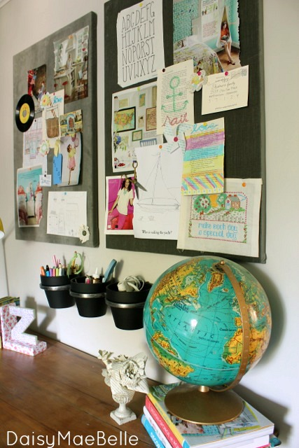 Using bulletin boards to make pin boards