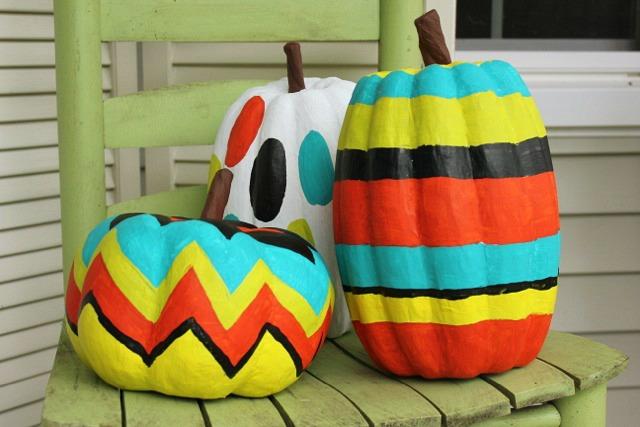 Painting Pumpkins @ DaisyMaeBelle