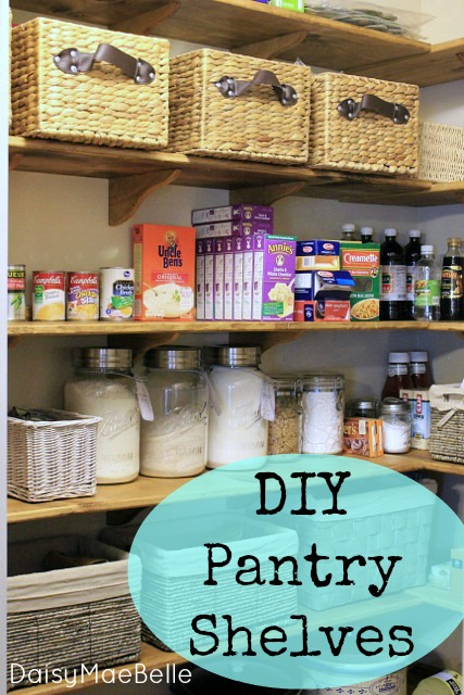 Pantry Makeover @ DaisyMaeBelle