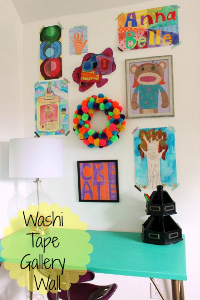 Decorating with Washi Tape