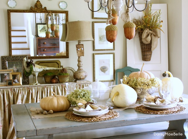 Fall Table Idea