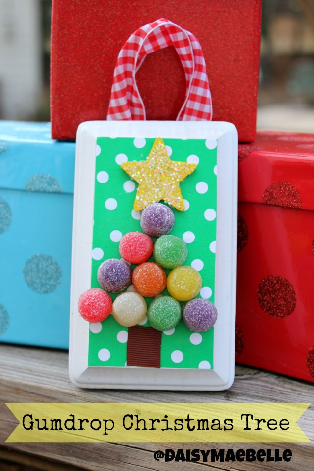 Gumdrop Christmas Tree Ornament
