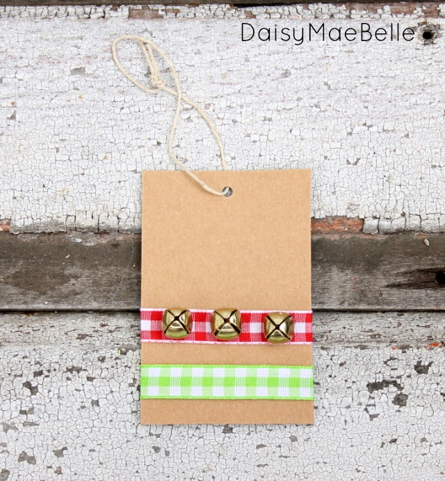 Jingle Bell Gift Tag