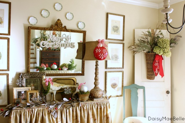Christmas Dining Room @ DaisyMaeBelle