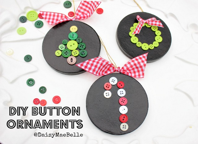 How to Make Button Ornaments