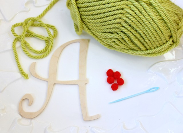 How to Make a Monogram Gift Tag
