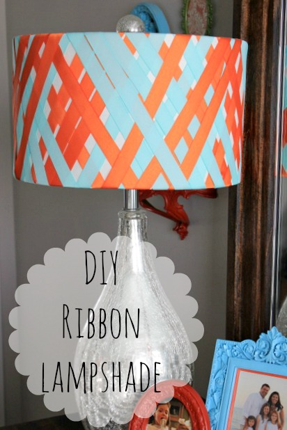 How to Make a Ribbon Lampshade