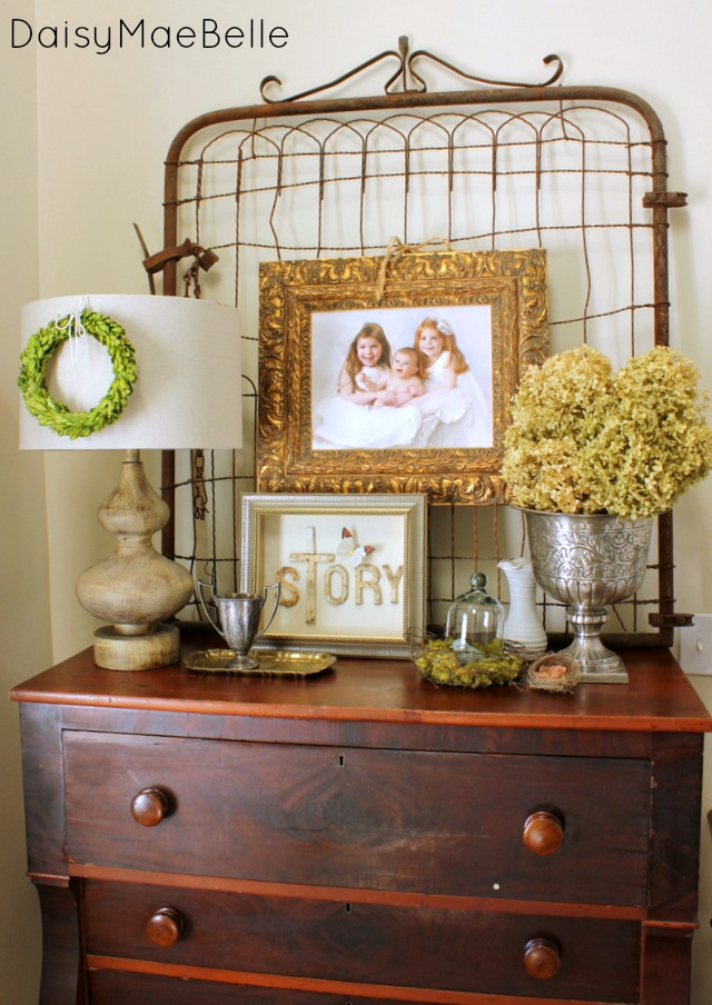 Decorating with Dried Hydrangea